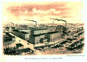 Das Gebäude des heutigen Museums Hofmühle im Jahre 1894