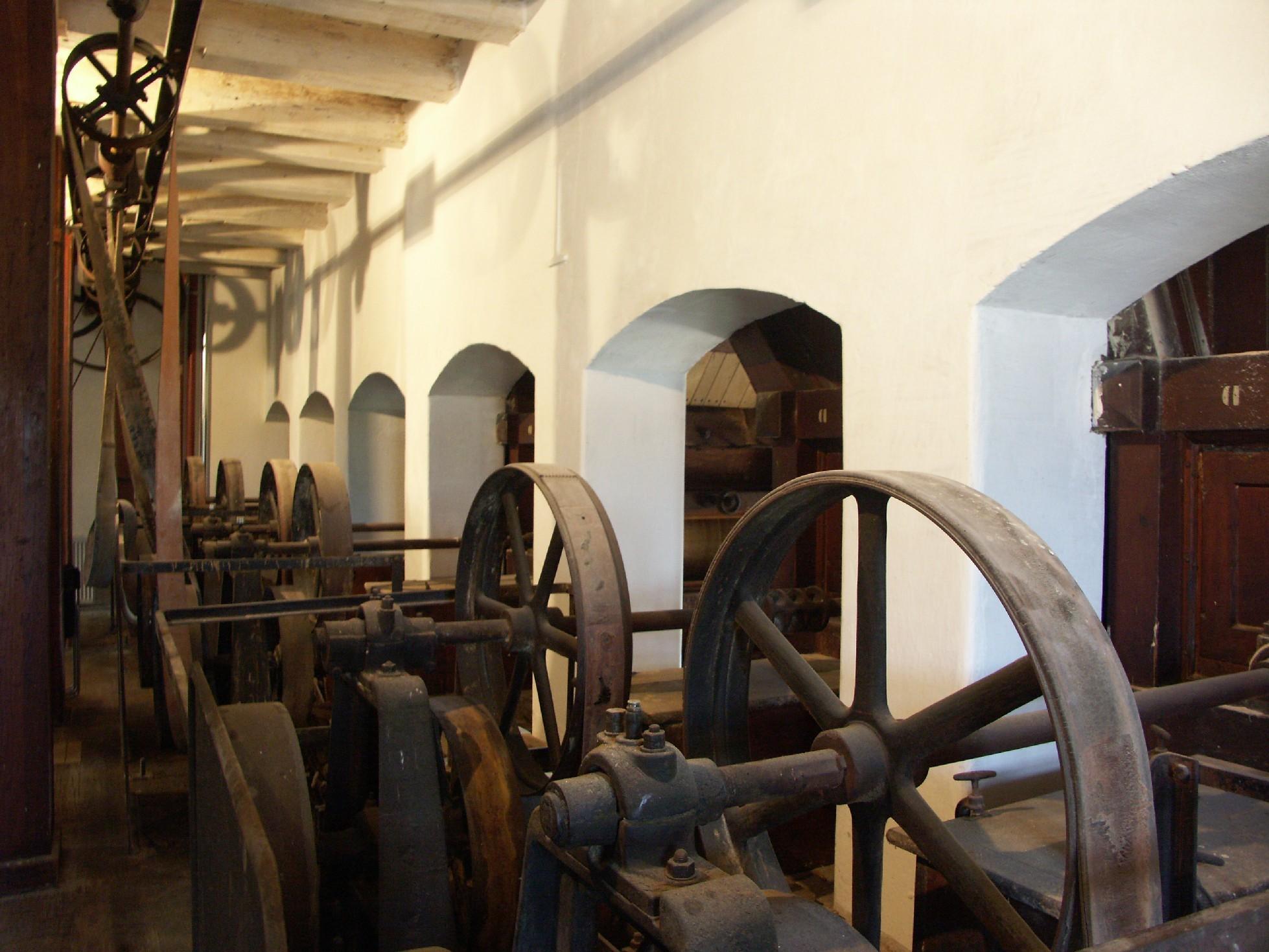 historische Mühlentechnik
